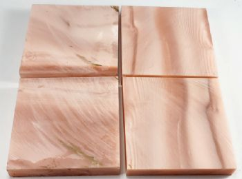 Pink Mother of Pearl Tru-Stone Block 0.4